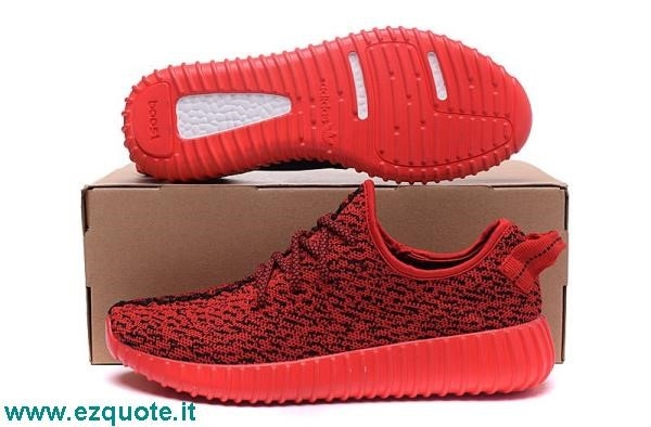 adidas boost rosse