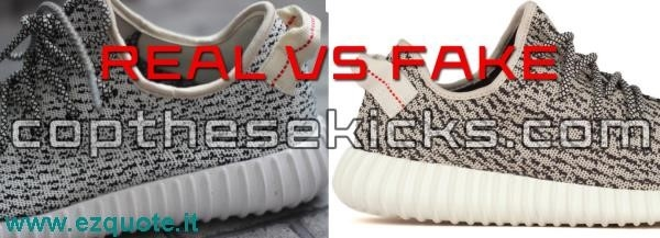 Yeezy Boost 350 Real Vs Fake
